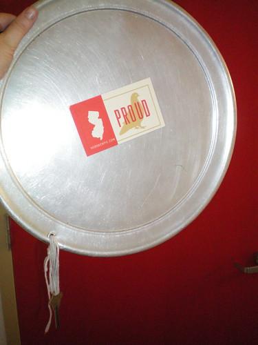 Pizza Pie Dish Bathroom Key