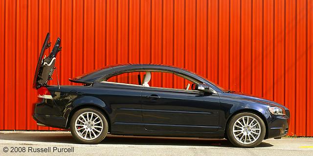 auto car automobile sweden convertible 2009volvoc70t5 ©russellpurcell ©2009russellpurcell russpurcell russellpurcell