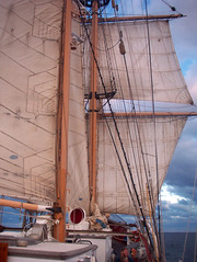Sails (cseward) Tags: ocean sea water sailboat geotagged boat sailing ship sails favorites sail tallship studyabroad seasemester seaeducationascociation