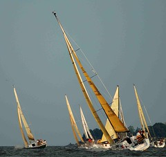 Wednesday night racing in Annapolis (IRainyDays) Tags: maryland annapolis sailboats