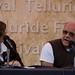 Anne Thompson and Paul Schrader at The Labor Day Picnic Seminar