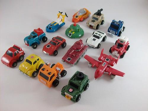 Transformers Minibots G1 modo alterno