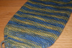Blue and yellow sock