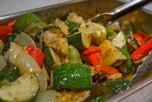 BBQ Spicy Vegetables