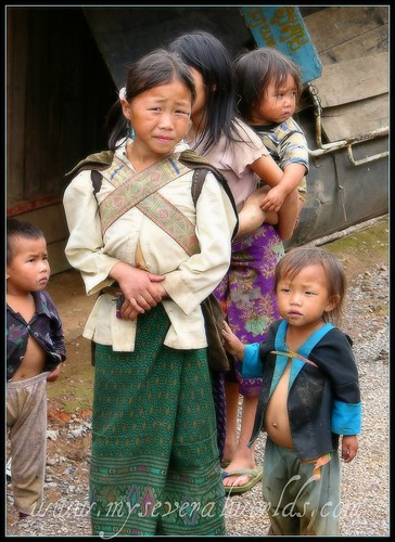 Village Kids in Northern Laos