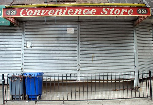 Shuttered Convenience, 116th St