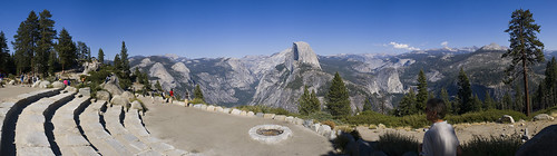 Glacier Point Amphitheatre Panorama