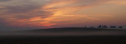 Wisconsin Farm at Dawn