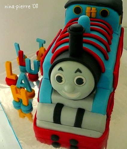 Cartoon Character Cakes Thomas Cake For Talullah