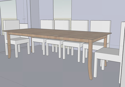 Dining Table in Room