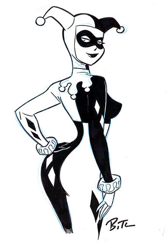 Harley Quinn reference by Bruce Timm