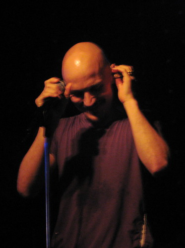 Tim Booth in Minneapolis 9/29/08 @ Fineline