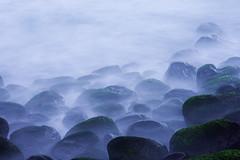 Abyssmic (ccdoh1) Tags: ocean park misty canon moss rocks dusk foggy national mysterious cape mornington peninsula 1740mm canonef1740mmf4lusm mystique polariser schanck 40d canoneos40d
