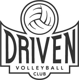 DRIVEN Volleyball Club logo