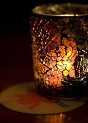 Candle at the Flying Scotsman, Mt Lawley, Perth