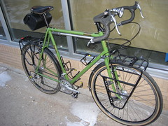 Jeff's Touring Cappy (guidedbybicycle) Tags: bicycle handmade steel touring racks lugged filletbrazed