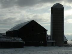 An American Farm in Winter (Chicago Man) Tags: winter usa snow cold ice wisconsin rural america john photography midwest photographer snowy w ground scene american icy midwestern iwanski chitownphotoscom johnwiwanski johniwanski hilbertarea