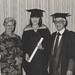 Ms Deirdre Todd (B.Arts in Communications Studies) was congratulated by her mother and father Mrs Vivo and Mr John Todd, the University of Newcastle, Australia - 1990