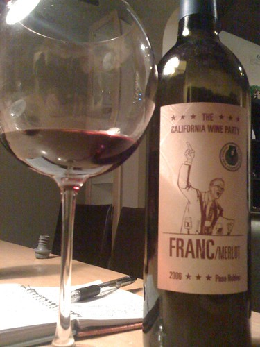 2006 The California Wine Party Franc Merlot