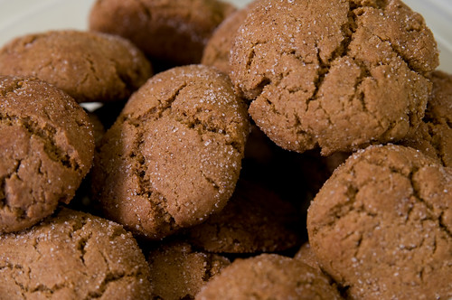 Molasses Spice Cookies - Up Close And Personal
