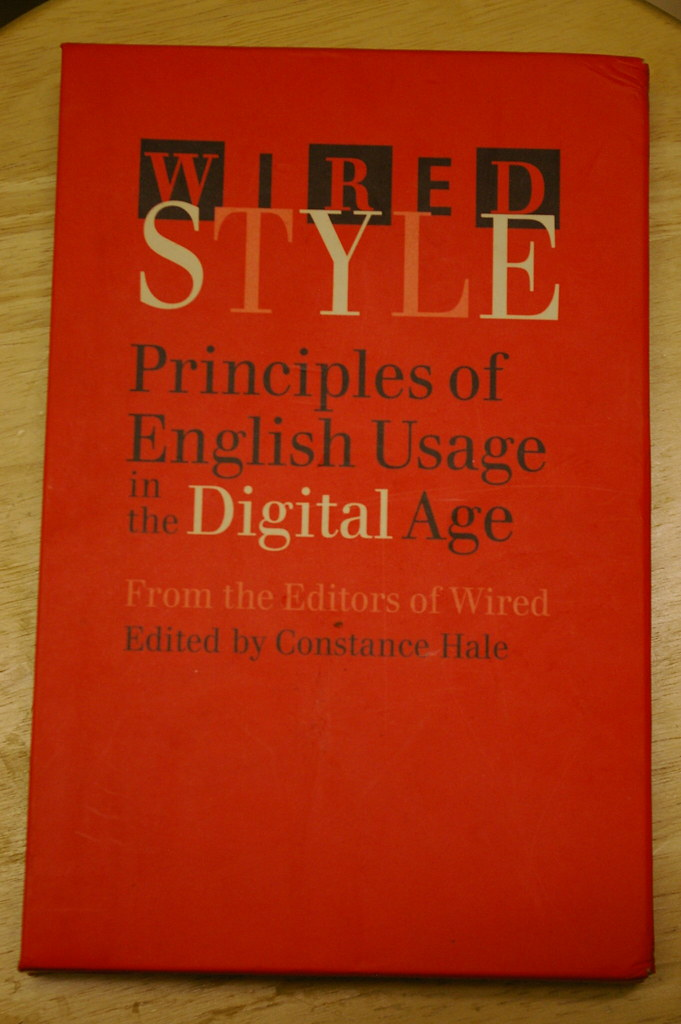 Wired Style Guide sleeve