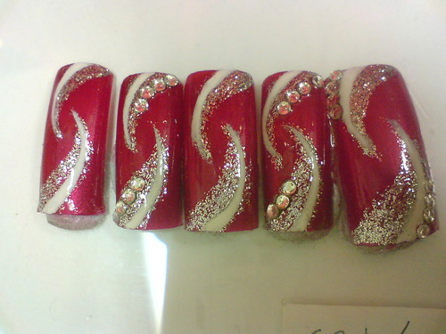 Nails design in Exotic Dual Hawk Claw Theme