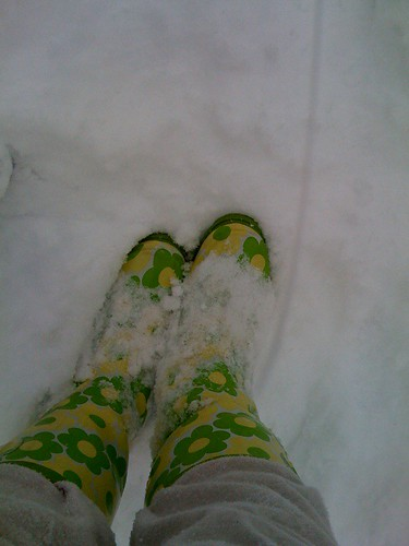 Wore my rain boots today