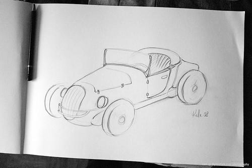 bil - teckning