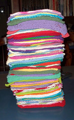 Dishcloth Pile