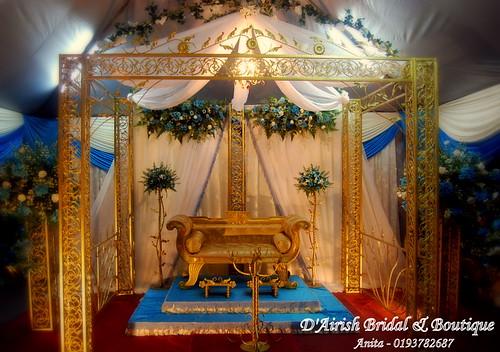 Pelamin dari D'Airish Bridal House