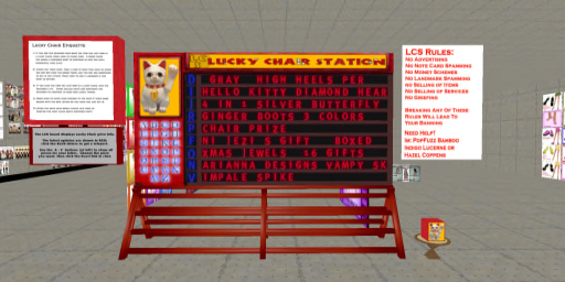 Lucky Chair Station
