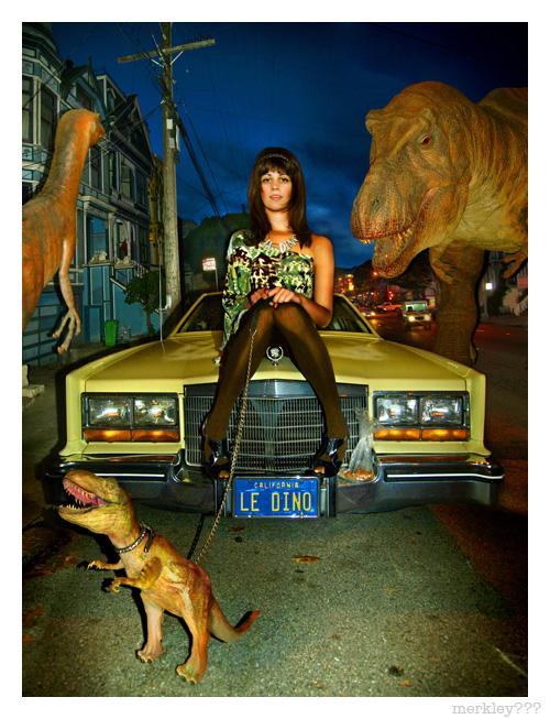 Le Dinosaur - Scene Magazine Cover Fall 2008