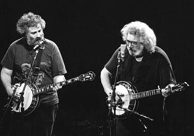 David Grisman and Jerry Garcia (date unknown)