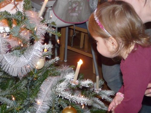 Kerzen ausblasen