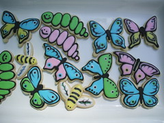 Happy Critters (sweetopia*) Tags: cookies butterfly butterflies sugarcookies sweettreats royalicing decoratedcookies pastelcolours mariantatyana
