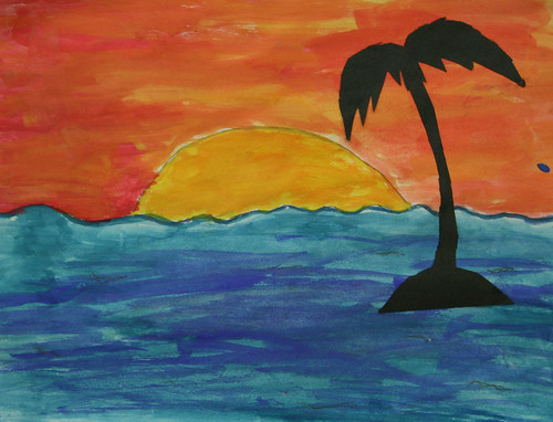Jayanna's Palm Tree Silhouette