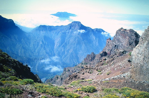 The most visited of the island La Palma
