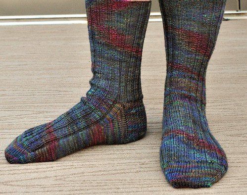 CTH ribbed socks