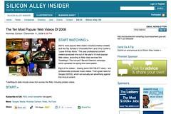 The Ten Most Popular Web Videos Of 2008_1230861324654