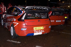 Cardiff WRC Ceremonial Start 041208 (rob  68) Tags: france car wales start de french julien rally group citroen cardiff 8 class number wrc gb co finished driver 17 78 registration equipe sebastien 26th c4 ceremonial 883 ffsa ogier 041208 a ehk ingrassia