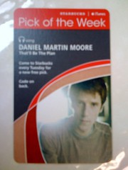 Starbucks iTunes Pick of the Week - Daniel Martin Moore - That'll Be The Plan