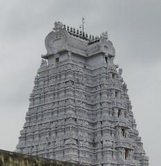 Srirangam Temple Gopuram (Raju's Temple Visits) Tags: favourite srirangam divyadesam ranganathar