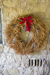Christmas Past (Spike's Shoes) Tags: wreath dead dried up red ribbon pine cones artwork sliceoflife foundart backgrounds patterns abstracts textures art summer vertical retired retirement termination pensions socialsecurity nestegg discrimination peril dilapidated old age rundown wornout useless exhausted obsolescence obsolete commercial advertising concepts edge edginess edgy grit gritty outdoor outdoors outside skjold c5219044 color colour image photo photograph christmas blueriver wisconsin wi usa united states america north american cs19 steve round circle circular fineart christmasdecoration