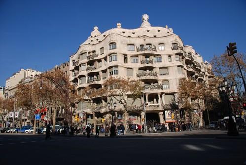 "Casa Mila` ""La Pedrera"", Barcelona - Spain"