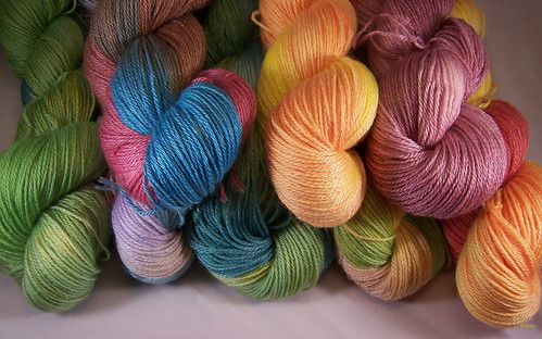 Dyed yarn - Crafting 365.05