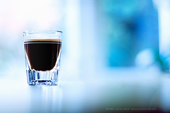A perfect way to start the day (another planet : )) Tags: glass coffee shot bokeh espresso hbw bokehwednesday