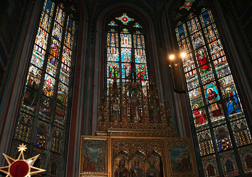 Stained Glass, St Vitus's Cathedral