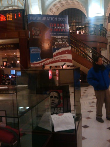 Obama's economic stimulus at union station #inaug09