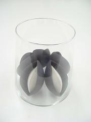 Containing Memories (janine berben) Tags: sculpture brown white flower glass floral ceramic beans memories container glaze pods glazed containing porselan lucieberbenceramics unintendedjewelry