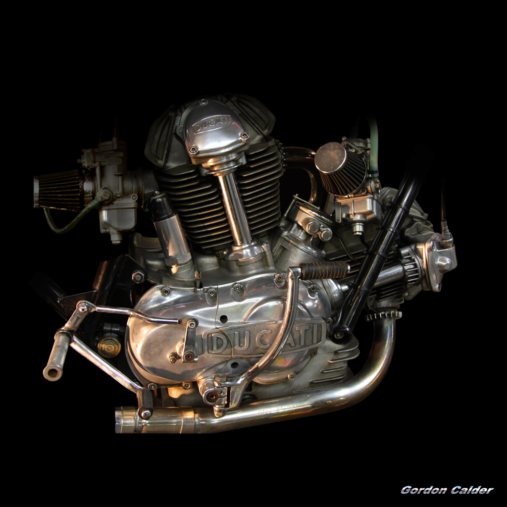 ducati 750ss engine | gordon calder